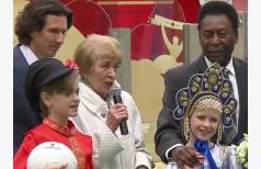 Легенда мирового футбола в Москве!