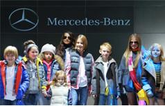 Показ Mercedes
