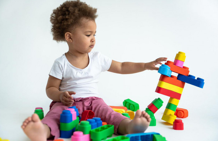 "Съемка для бренда развивающих игрушек ""Мягкие кирпичики"""