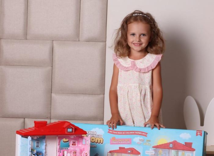 Съемка для каталога кукольных домиков