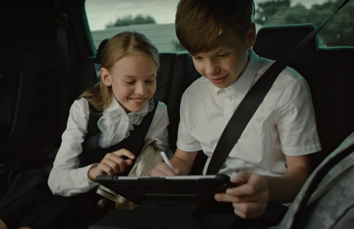 Съемка рекламного видеоролика ТОЙОТА