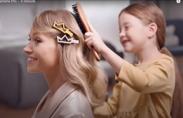 Реклама новой коллекции Pantene Pro – V miracle