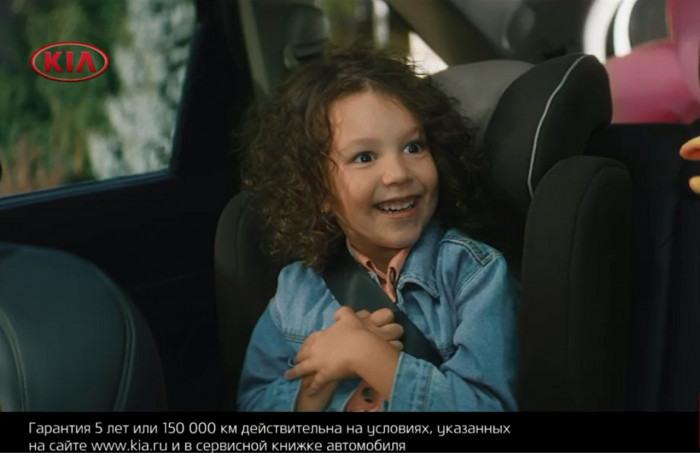 Реклама KIA Sorento